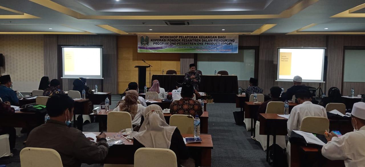 25 Kopontren Ikuti Workshop Laporan Keuangan Syariah