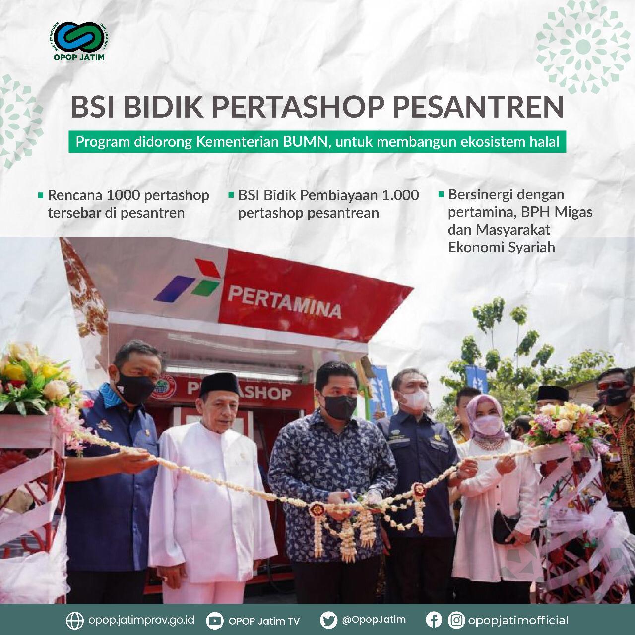 BSI Bidik Pertashop Pesantren