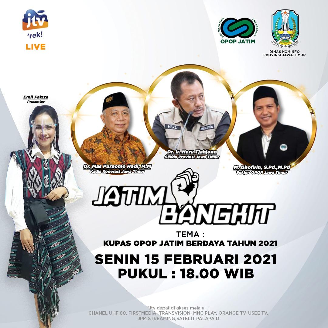 LIVE! Jatim Bangkit