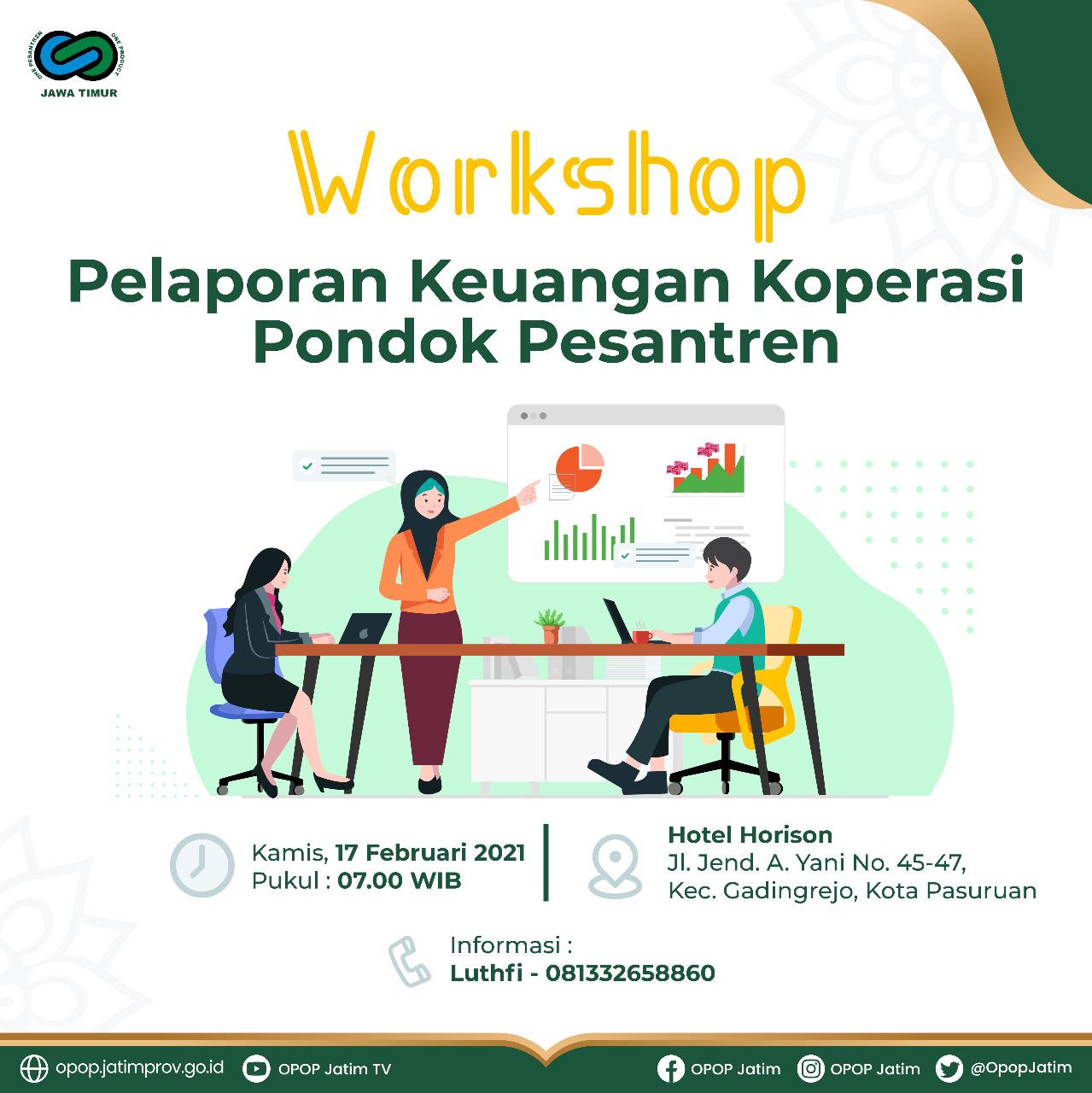 Workshop Pelaporan Keuangan Kopontren