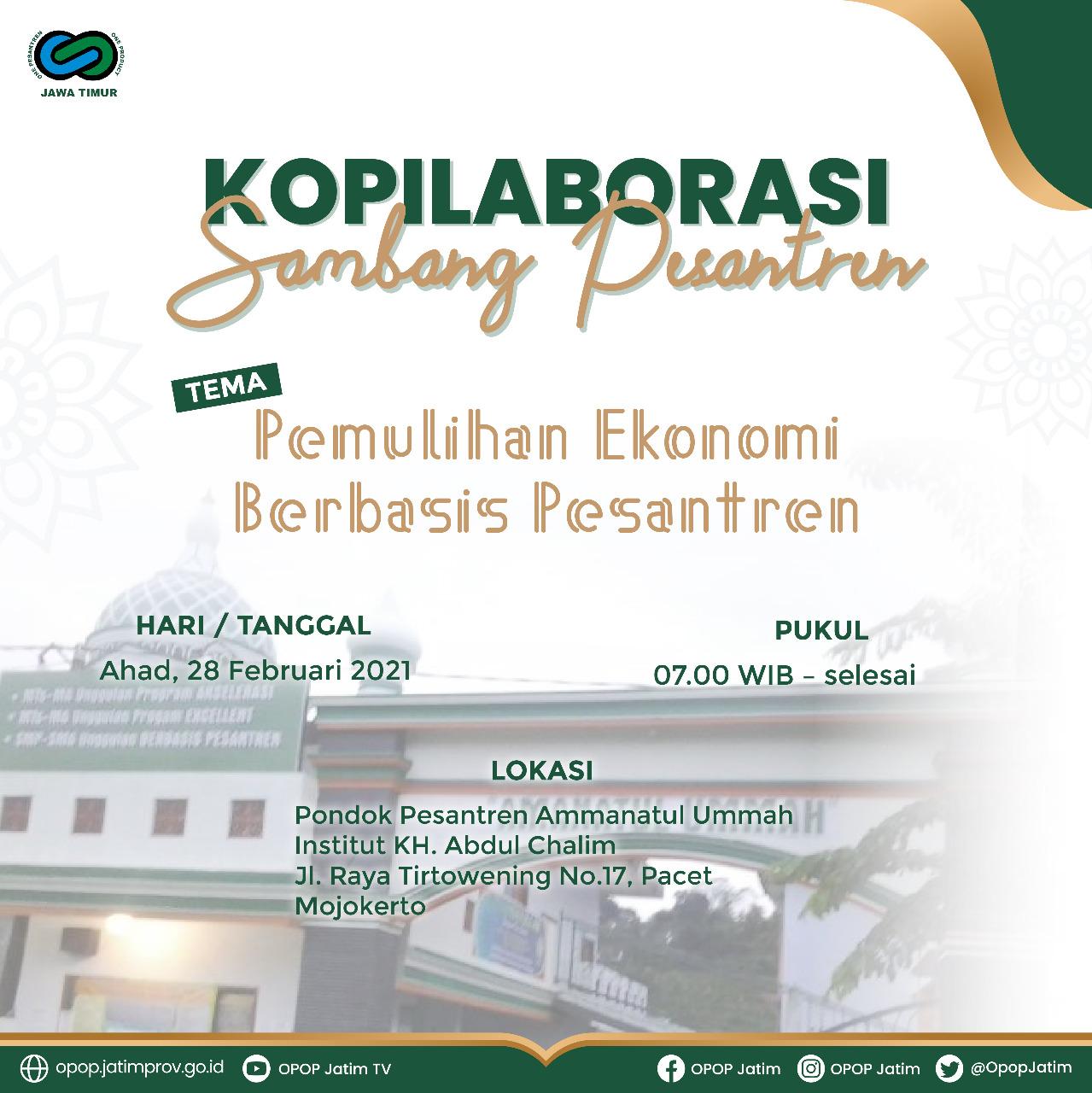 Kopilaborasi Sambang Pesantren 2021
