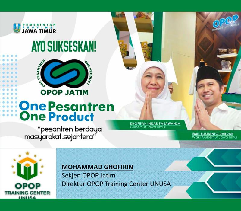 Materi Program OPOP (08-06-21)